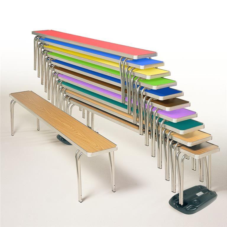 Contour folding benches