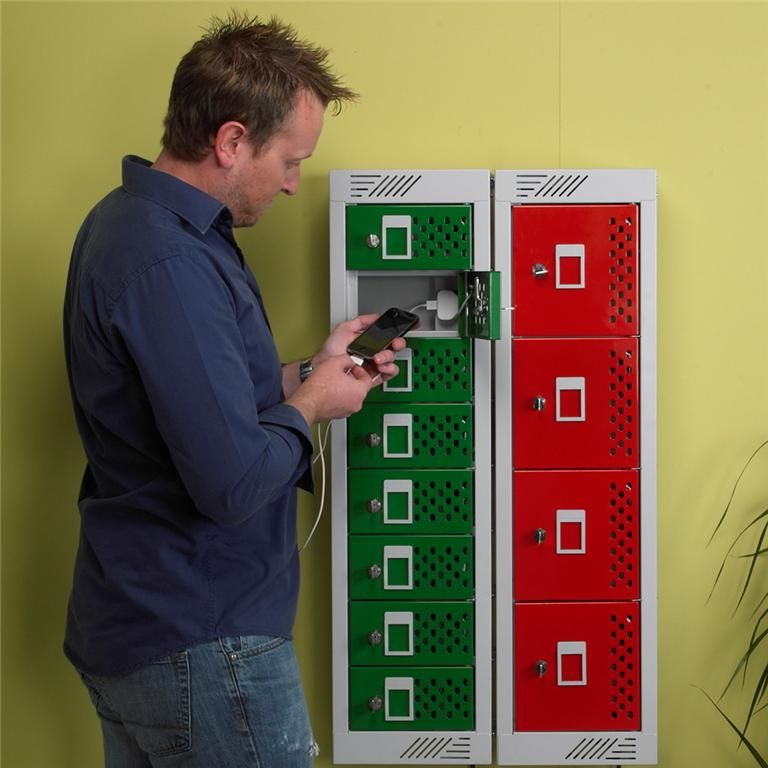 In Charge™ personal effects lockers