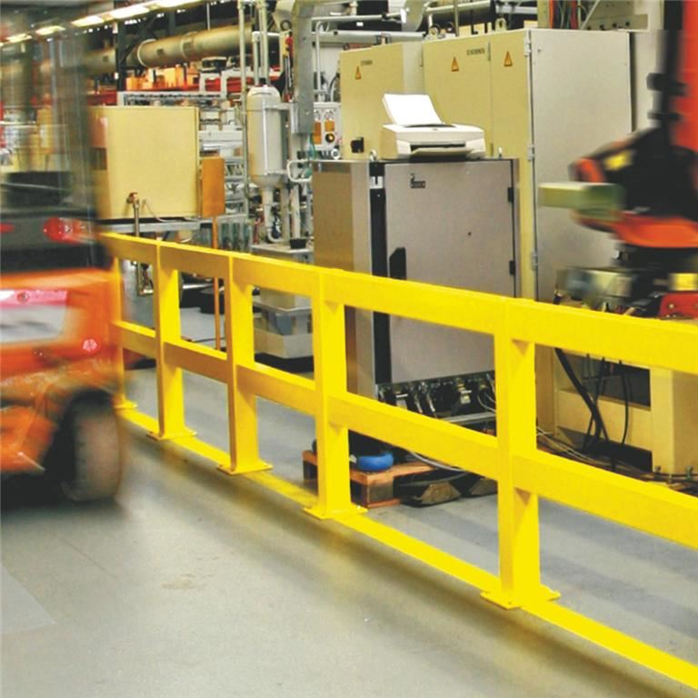 Impact protection railing system
