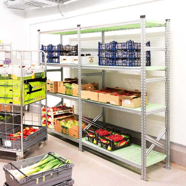 Food shelving