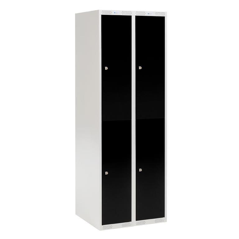 2 door lockers