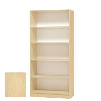 Modern bookcase, 5 shelves