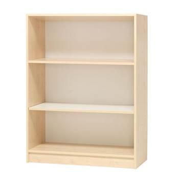 Modern bookcase, 3 shelves