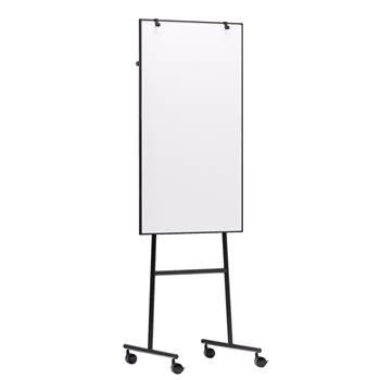 Mobile flip chart easel