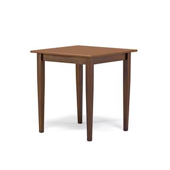 Restaurant table: walnut