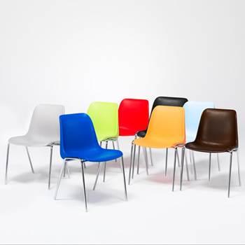 Krzesło plastikowe.