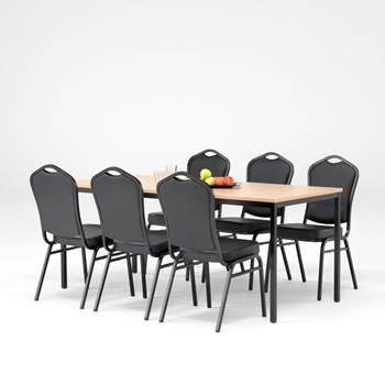 Spisegruppe, svart
