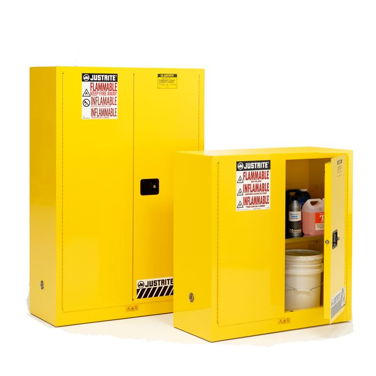 Sure-Grip® EX fire-rated cabinets: self-close doors