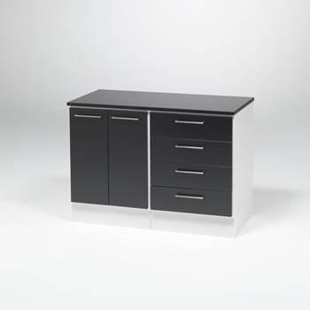 Modul med kontorsskåp och lådor