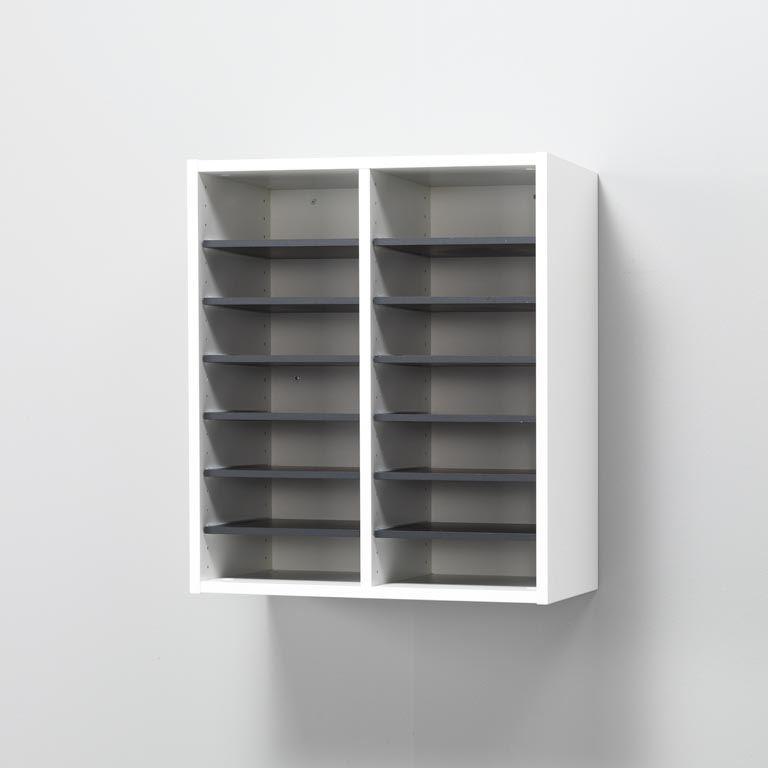 """Elegant"" wall-mounted unit: 14 comps"