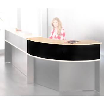 Corner counter unit