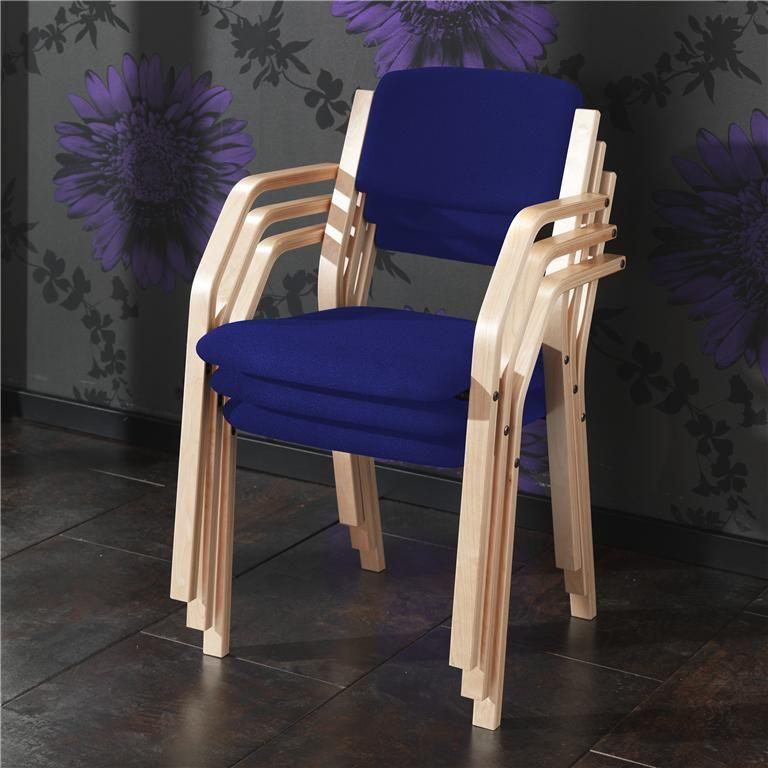 Krzesło konferencyjne z podłokietnikami