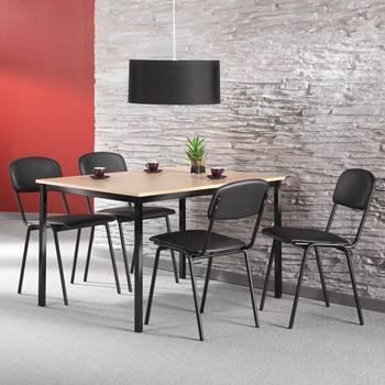 Bord med 4 stolar