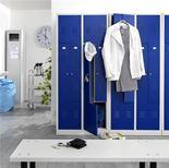 Steel door Z lockers