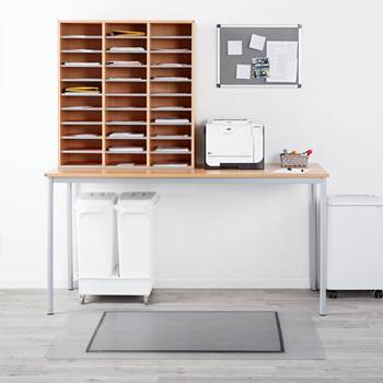 Mail sorting unit +  table