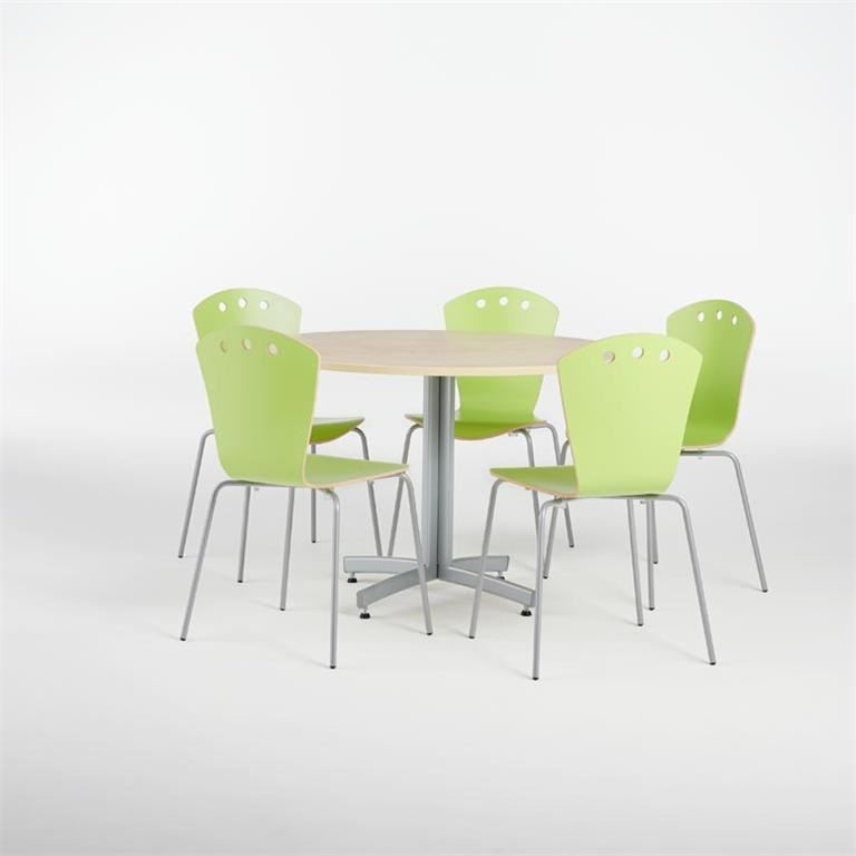 Canteen package deal: table + 5 chairs