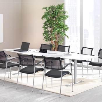 Konferensbord med elpanel