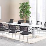 Konferansebord med  hull til El-Panel