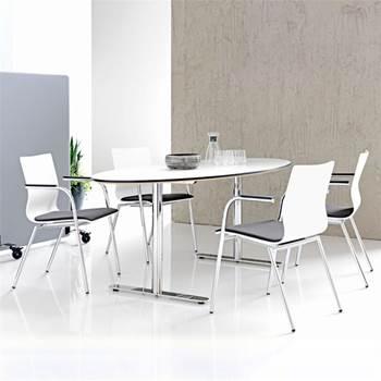 Owalny stół konferencyjny 1000x1900x720mm