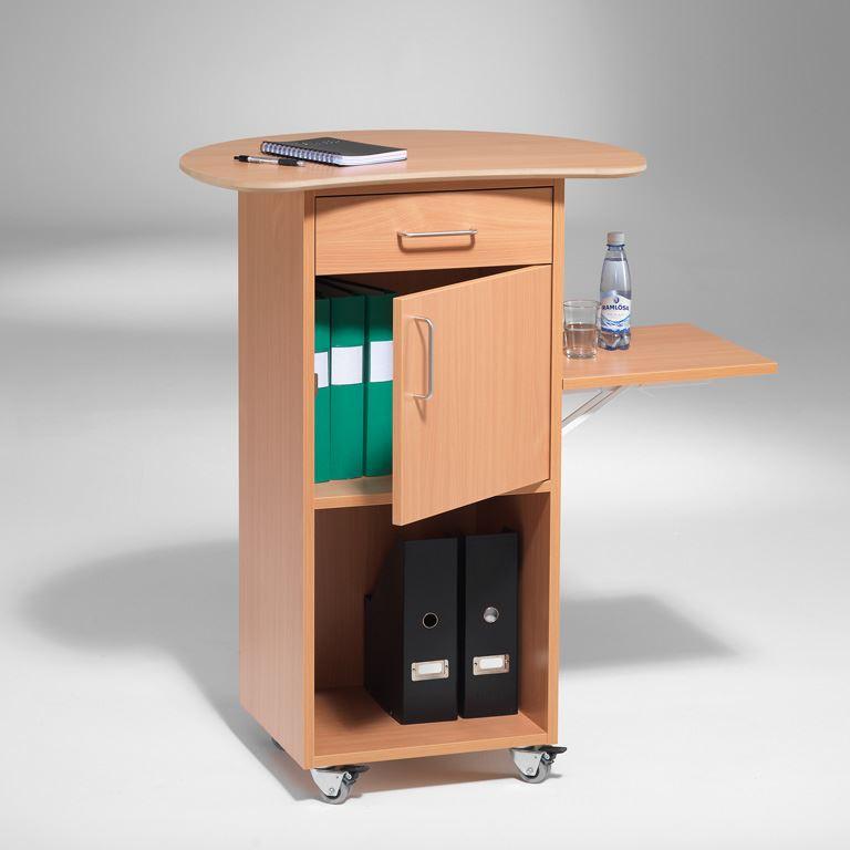 mobiler tisch mit schrank und klapptisch aj produkte sterreich. Black Bedroom Furniture Sets. Home Design Ideas