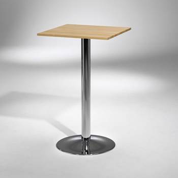Bar table: square
