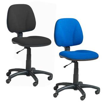"""Budget"" office chair: low back"