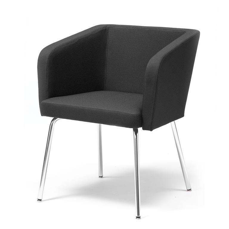 Konferensstol med raka ben