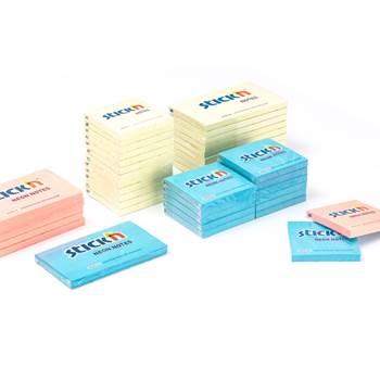 Självhäftande notisblock, 12-pack