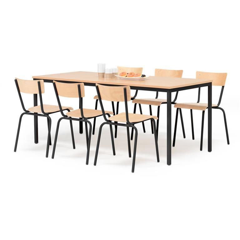 Canteen table: beech