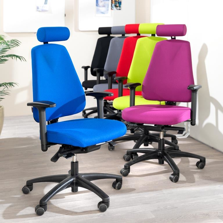 """Ergo"" office chair with free-float function"