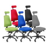 """""""Ergo"""" office chair with free-float function"""