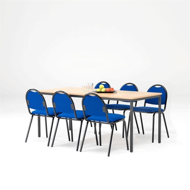 Kantinemøbler til pakkepris - Bord+ 6 stoler