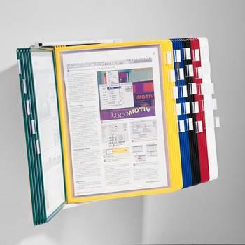 Veggstativ for A4 paneler
