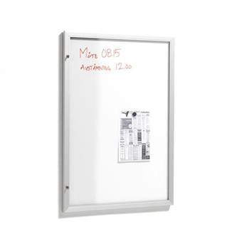 Anslagsskåp med whiteboard
