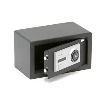 Code/key lock safe