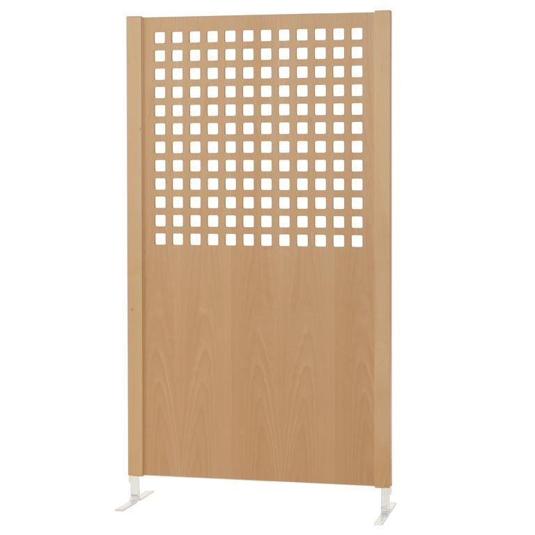 Wooden screen: square