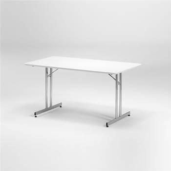 Beli sklopivi sto