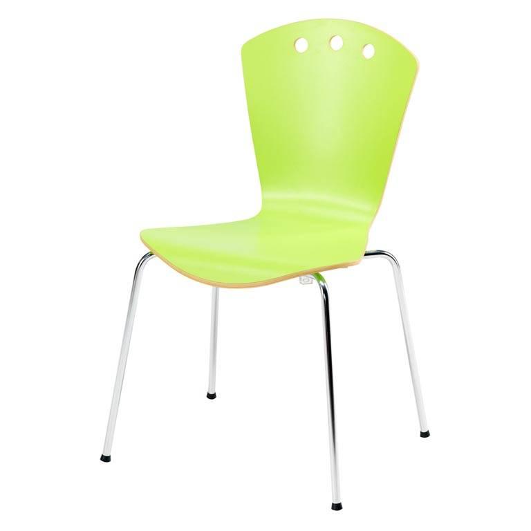 Stylowe krzesło z laminatu wysokociśnieniowego