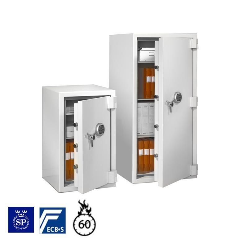 Fire and burglary safe: keypad