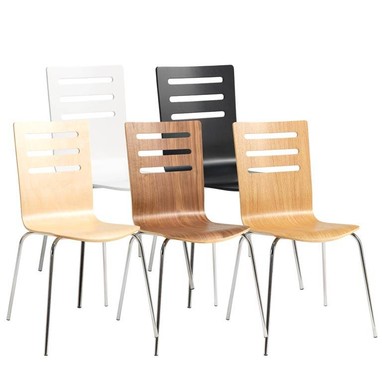 """Milla"" chair: straight design"