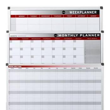 Großer Wochen-, Monats- oder Jahresplaner