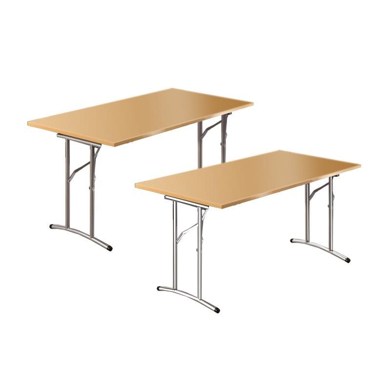 Folding office tables
