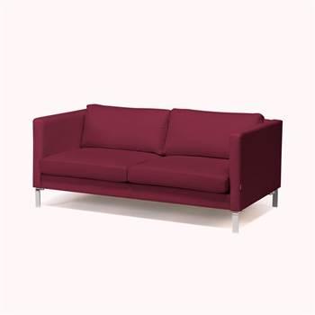 Soffa, 3-sits, ljusgrön, tyg, krom
