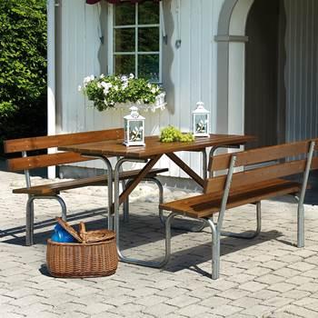 Pine picnic set