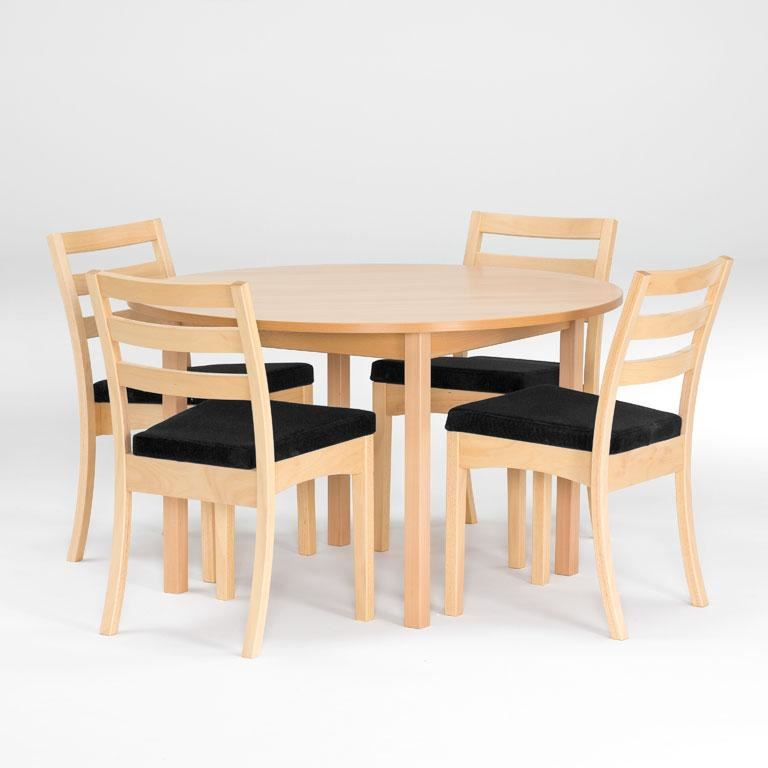 Canteen package: round table + chairs
