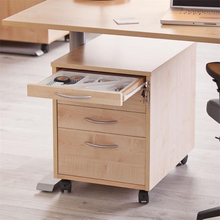 rollcontainer laminiertes holz oder in wei aj produkte. Black Bedroom Furniture Sets. Home Design Ideas