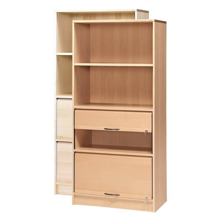 """""""Fixus"""" cabinet: 2 shelves: 2 shutters"""