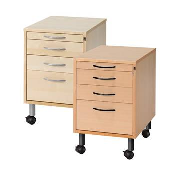 Mobile storage unit: 4 drawers