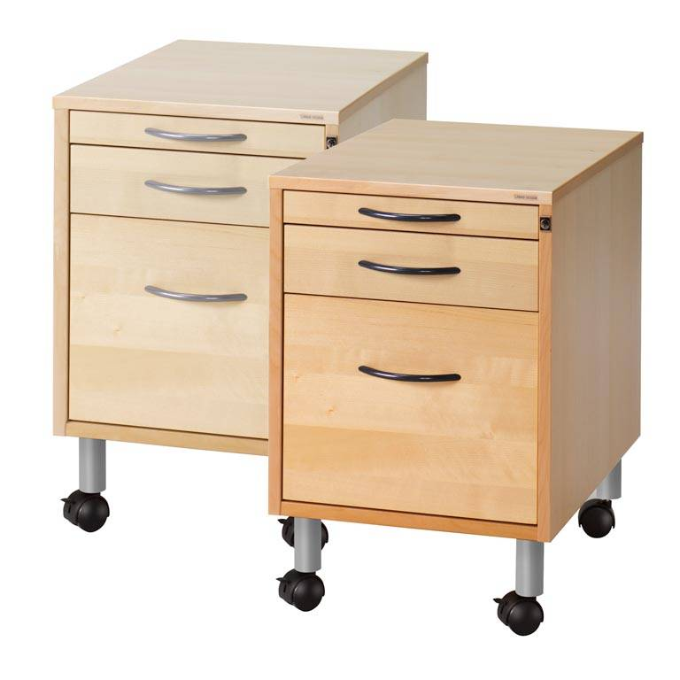 Mobile storage unit: 3 drawers