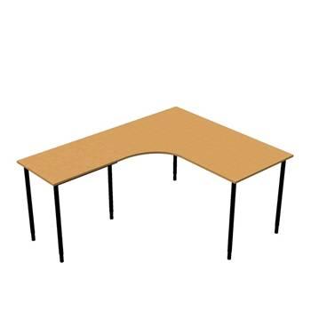 Zestaw biurkowy Biurko ergonomiczne `biurko dostawka